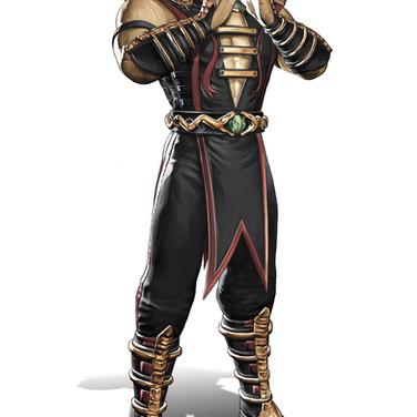 Shang Tsung character design for Mortal Kombat 9