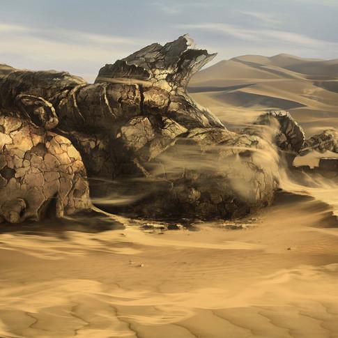 Desert design for Mortal Kombat 9