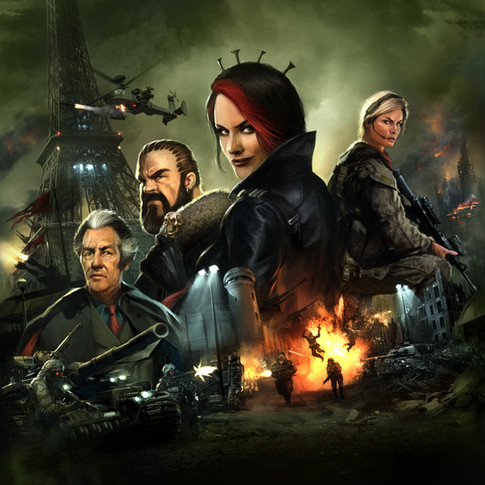 Mobile Command computer game poster
