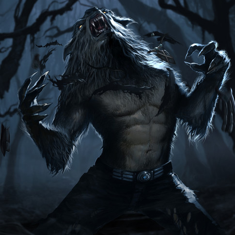 Night Wolf character design for Mortal Kombat 9