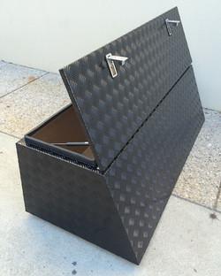 Custom-angled-caravan-nose-cone-box