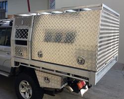 Custom-tray-dog-box-canopy-with-ladder-r