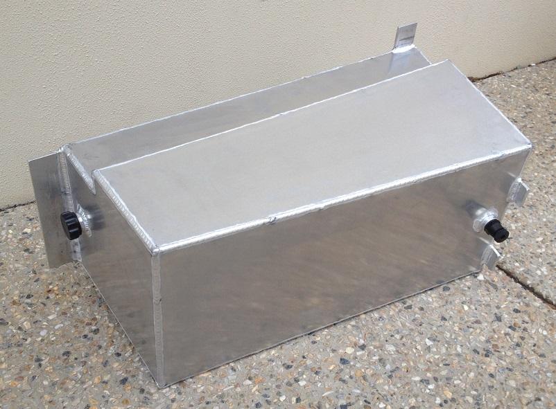 Custom-under-body-water-tank