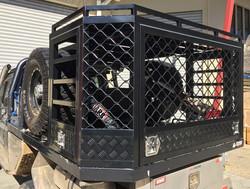 Custom-powdercoated-dog-and-storage-cage