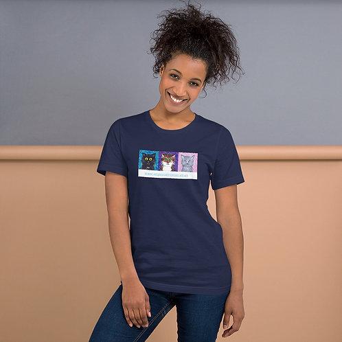 Angus Cat Rescue Short-Sleeve Unisex T-Shirt