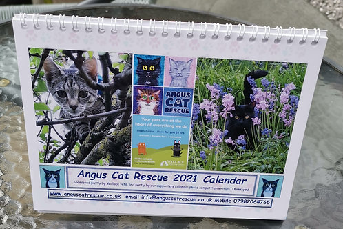 Angus Cat Rescue 2021 Calendar