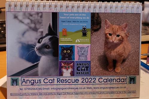 Angus Cat Rescue 2022 Calendar