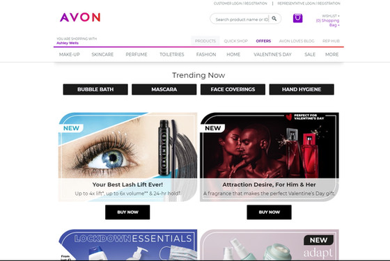 You can now order from Avon and help us fund-raise at the same time