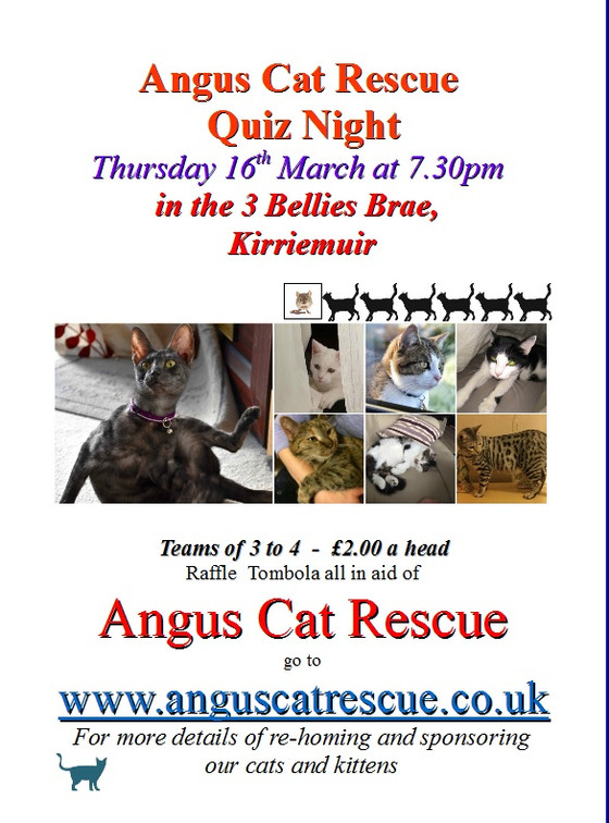 Quiz night a success £400 + was raised. Look out for quiz nights in the future!