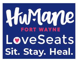 Humane Fort Wayne Loveseats