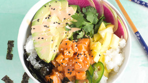 SBT makes poke bowls with Urban Accents!