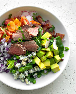 Steak Cobb Salad with Tangy Vinaigrette