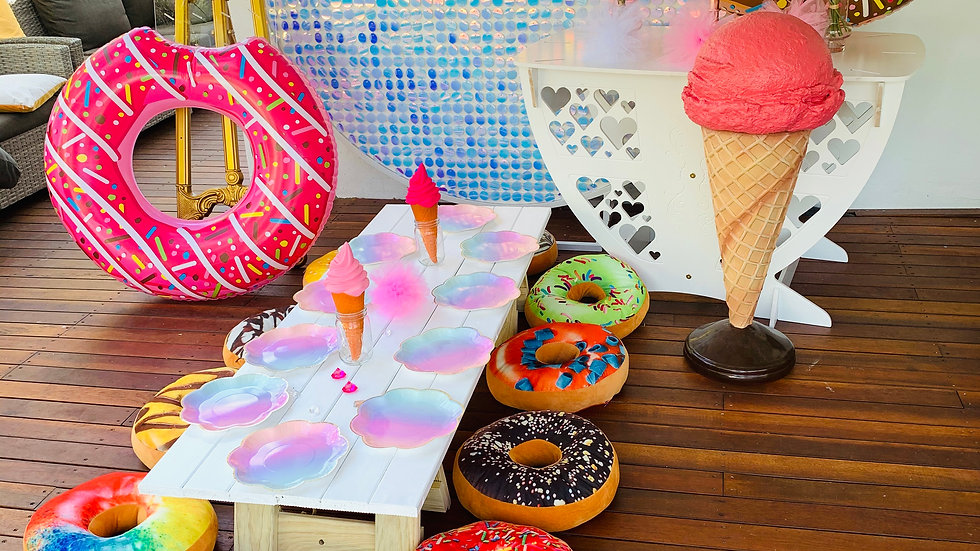 Donut / Sweet Candy Theme