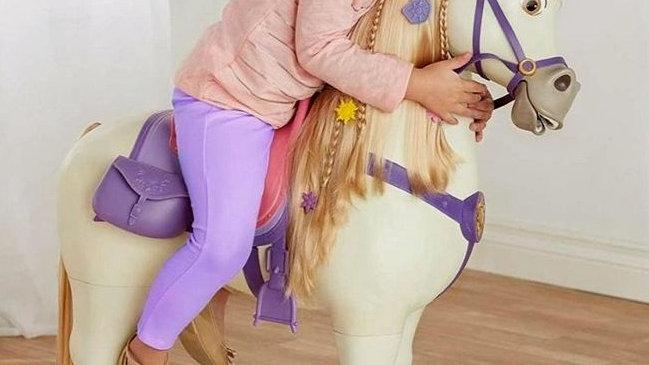 Maximus Disney Princess Rapunzels Ride On Horse