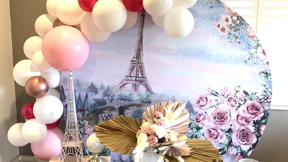 Paris Backdrop