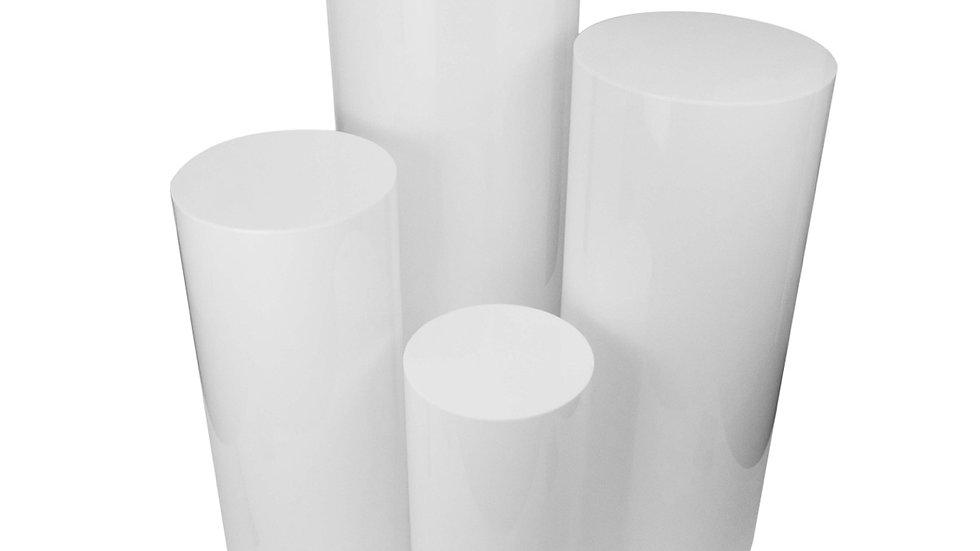 Acrylic Cylinder Plinths