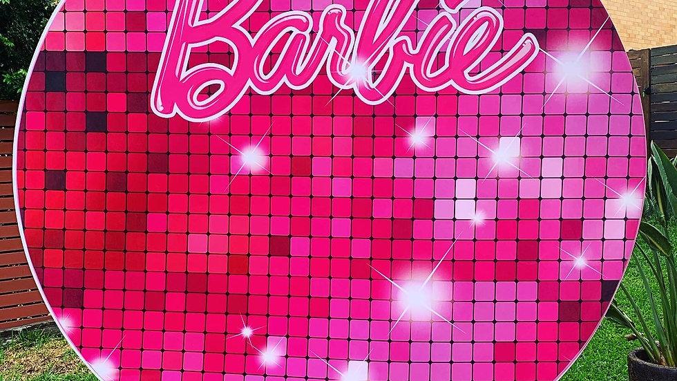 Barbie Backdrop