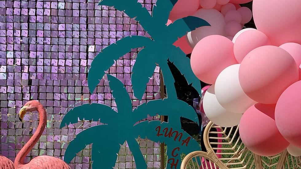 Coachella Flamingo Theme