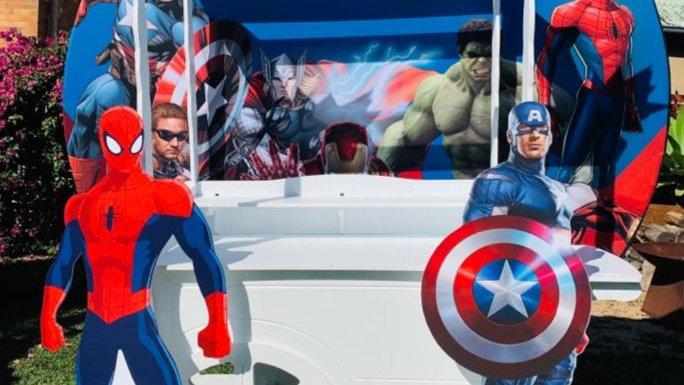 Avengers backdrop