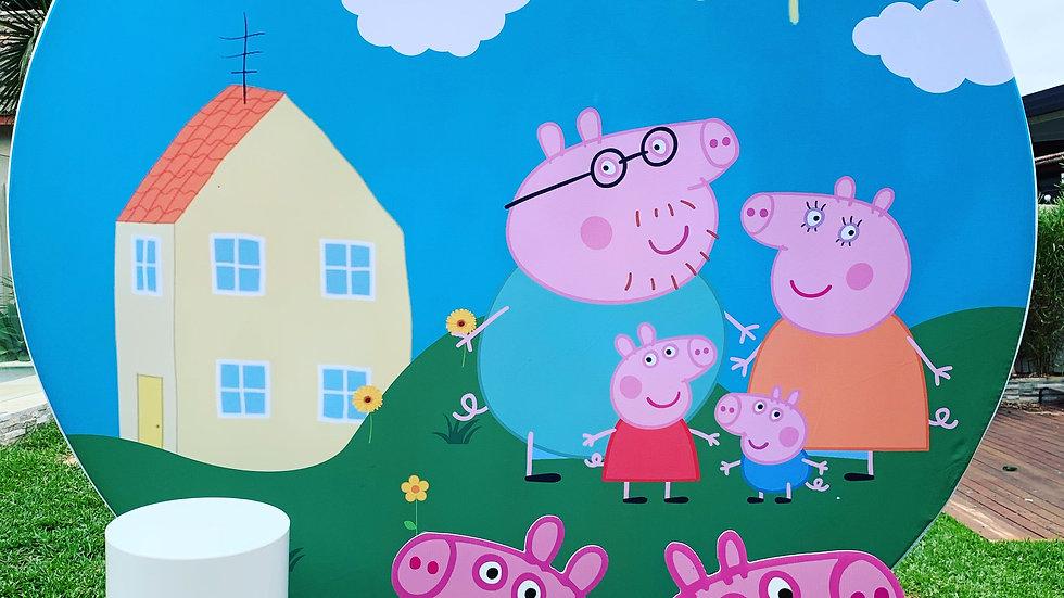 Peppa Pig Backdrop