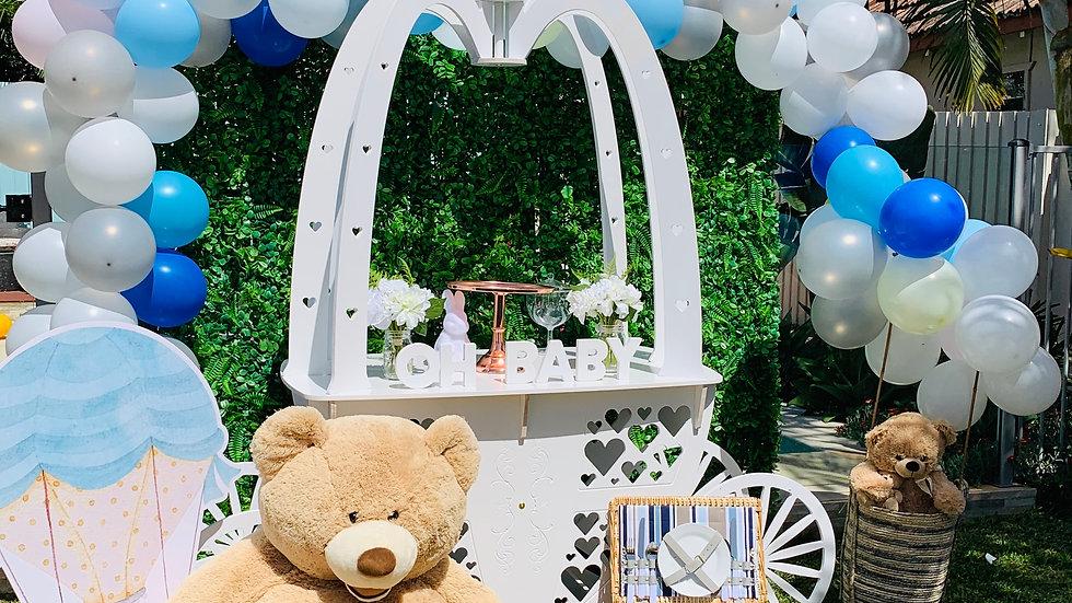 Teddy Bear and Hot Air Ballon Theme