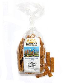 Галеты с тимьяном и томатом Таруска Taruska