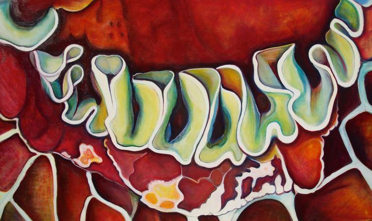 Underworld (Comp. No. 10) 120/200cm, oil on canvas, 2014