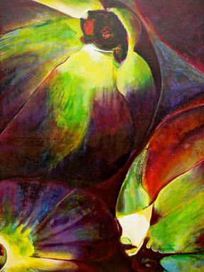 Artichoke (Comp. No.1) 160x120cm, oil on canvas