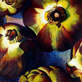 Artichoke (Comp. No.2) 160x120cm, oil on canvas
