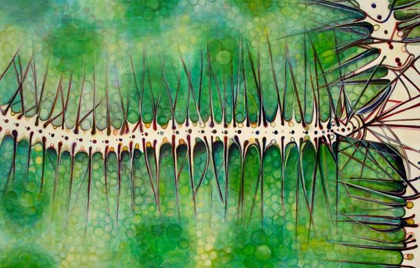 Underworld (Comp. No. 8), 130/200cm, oil on canvas, 2014