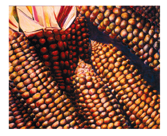 Kukurutz, 180/145cm, oil on canvas, 1999