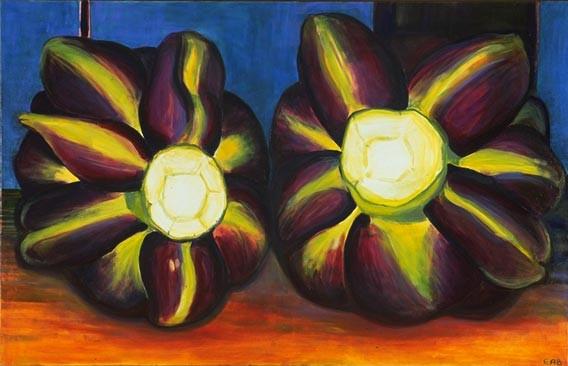 The Couple, 110x80cm, oil on canvas