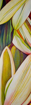 The Lily Game, 240x73cm, oil on canvas