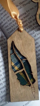Quill Design Bookmark - Day's Dying Glory Range