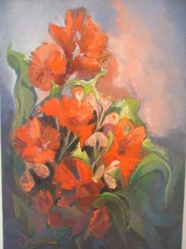 Red flower lover