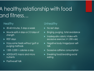 Do you have a healthy relationship with food?