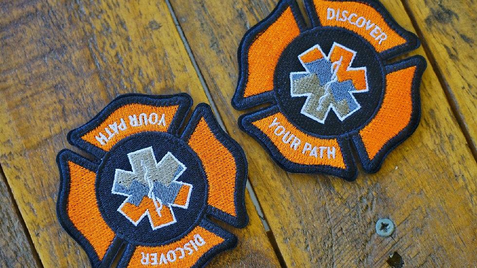 Maltese Cross Patches 10% donated to Non-Profit California Fire Donation,