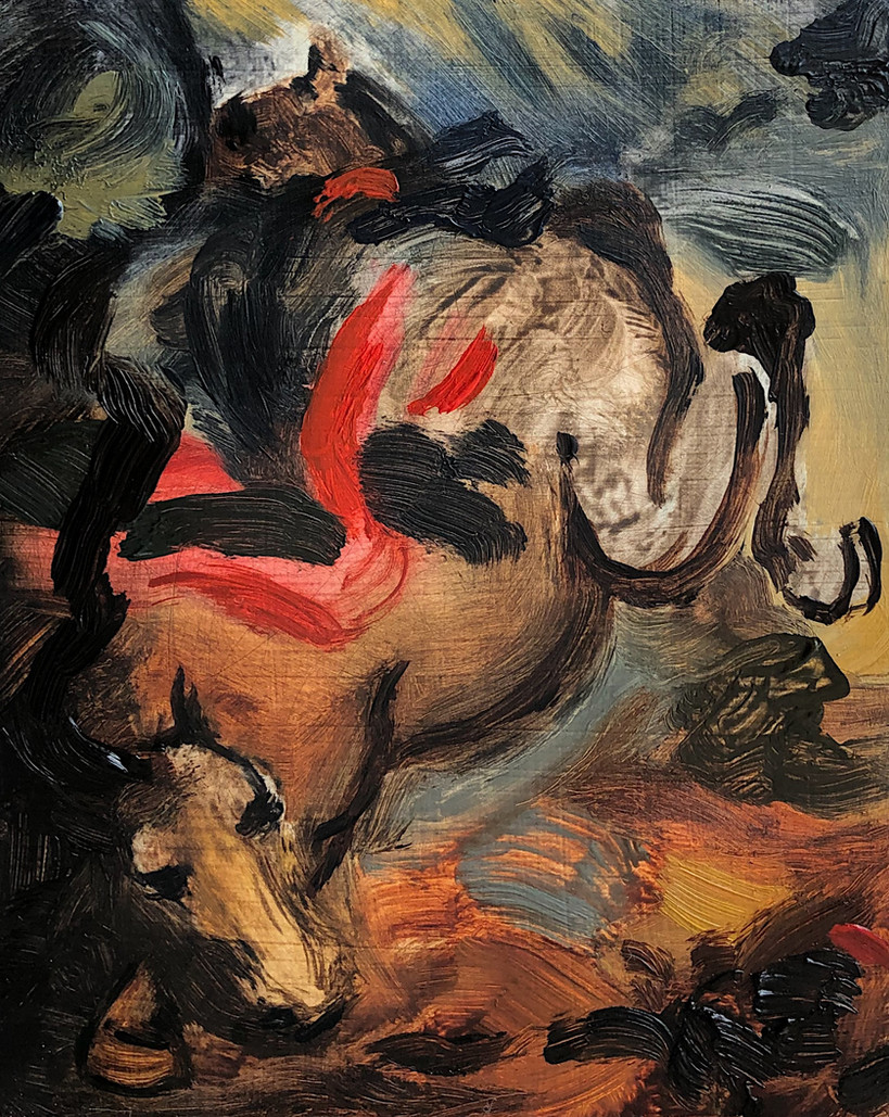 untitled (a horse falling)