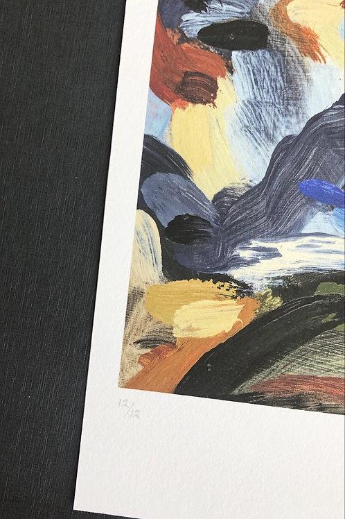 "Giclee Print ""bottomless as the edge of tomorrow is soft III"""