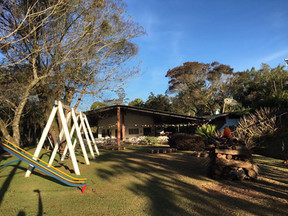 Salão principal e playground