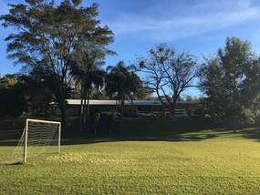 Campo de futebol gramado