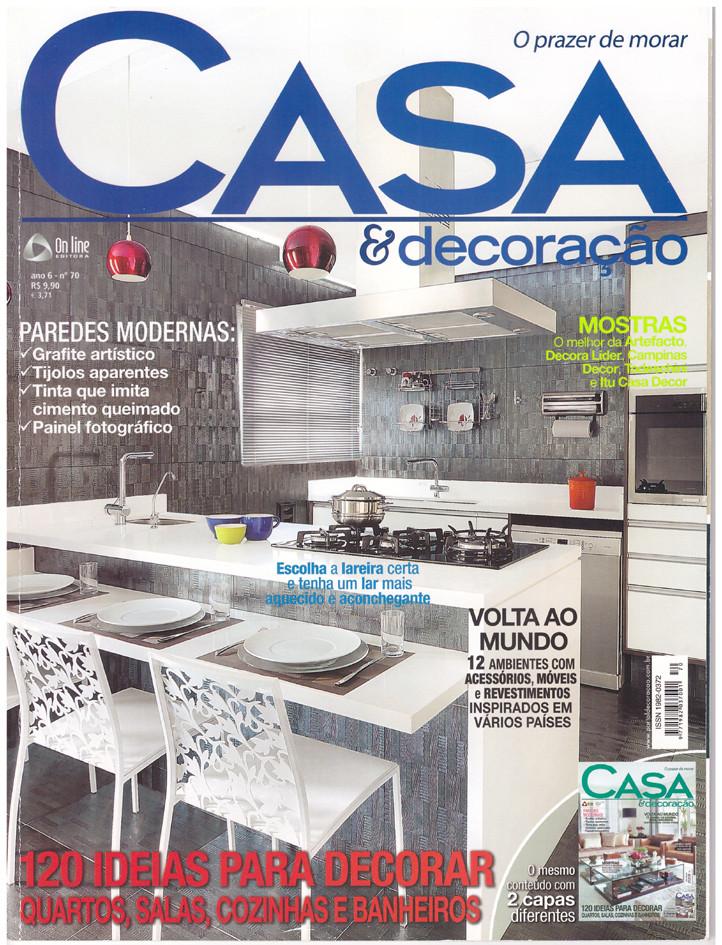Revista Casa & Decoração