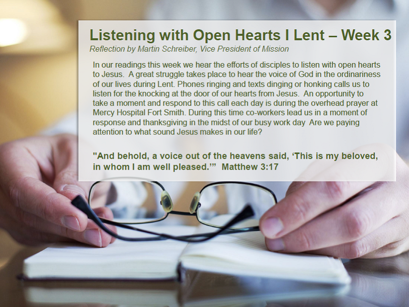 Listening with Open Hearts