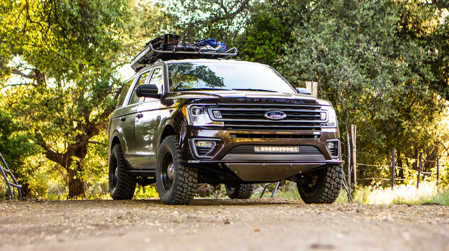 Baja Forged Expedition in the trees