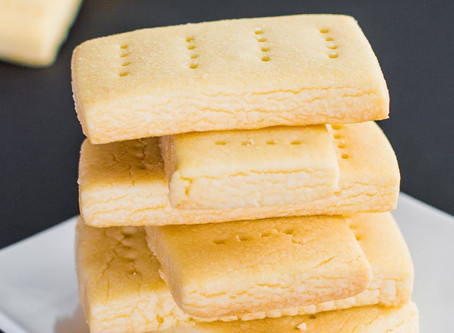 The Best Vegan Shortbread Cookies Ever