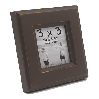 3x3 Moab Picture Frame - Chocolate Brown