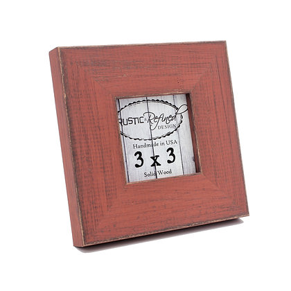 3x3 Country Colors Frame - Alabama Red