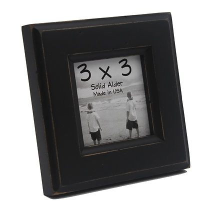3x3 Moab Picture Frame - Black
