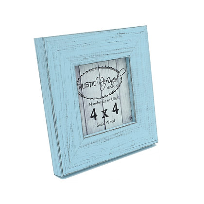 4x4 Country Colors Frame - Sky Blue