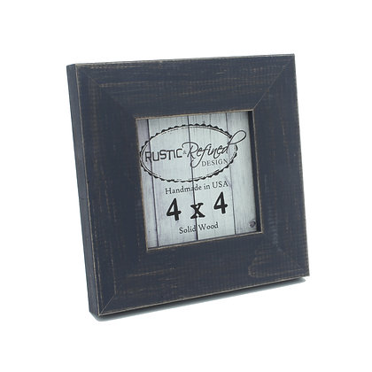4x4 Country Colors Frame - Weathered Blue